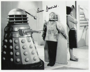 Ann Davies, Dr Who, Genuine Signed Autograph  2018